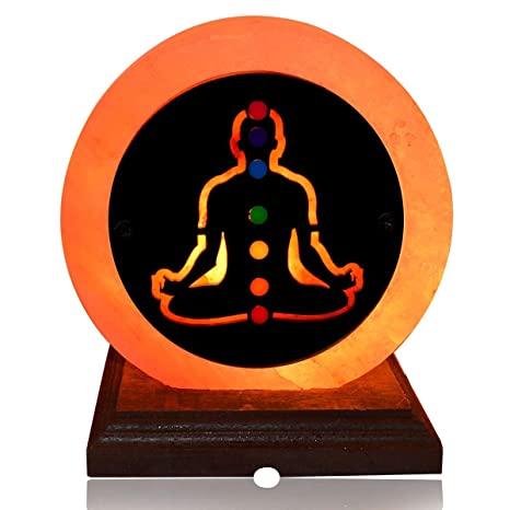 Buy Seven Chakra Himalayan Rock Salt Lamp