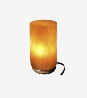 Cylindrical Shape Himalayan Salt Lamp